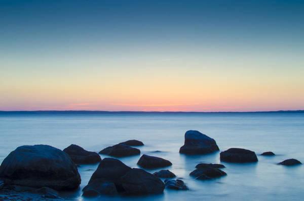 Photograph - Cedar Tree Neck Sunrise by Steve Myrick