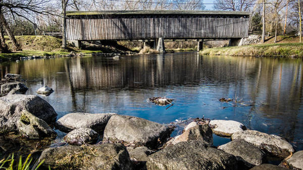 Photograph - Cedarburg Covered Bridge by Randy Scherkenbach