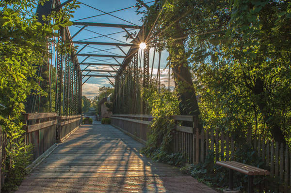 Photograph - Cedarburg Footbridge by James  Meyer