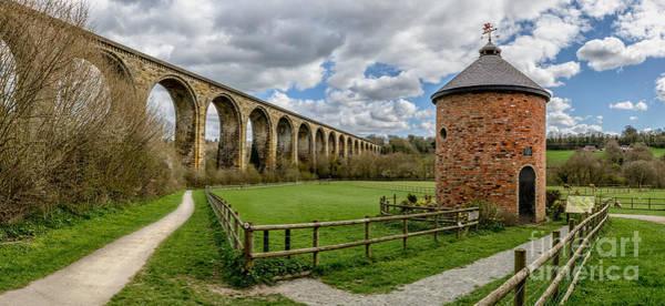 Wall Art - Photograph - Cefn Viaduct by Adrian Evans