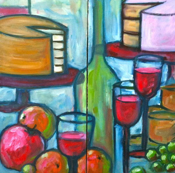 Rhea Painting - Celebrate The Day by Linda Rhea