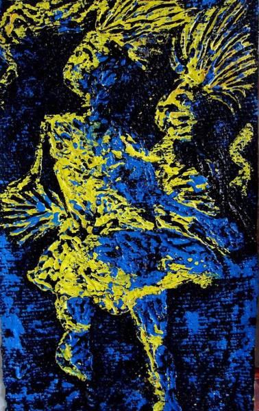 Initiation Painting - Celebration by Gibu john joshua
