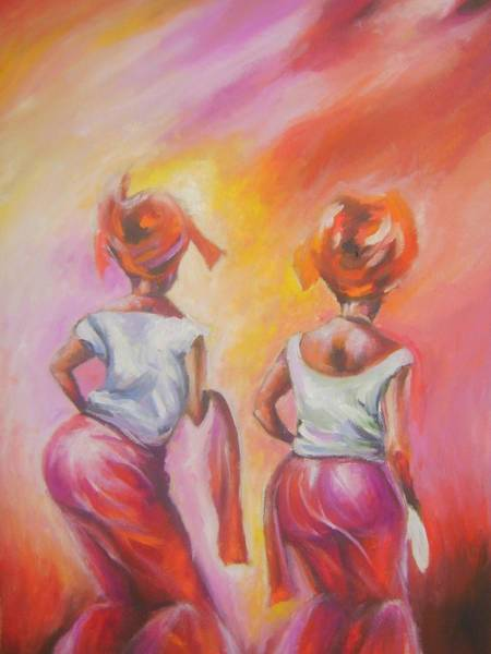 Nigeria Painting - Celebration Of Life  by Olaoluwa Smith
