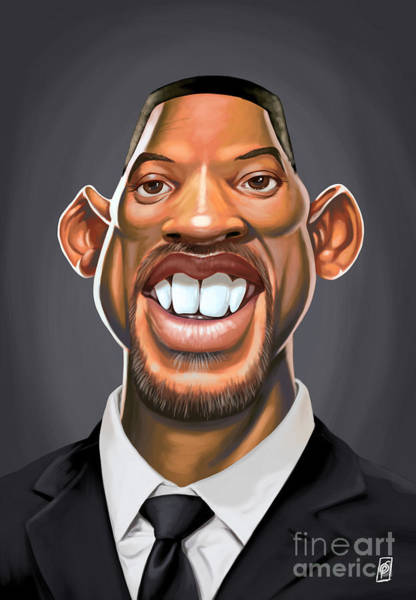 Will Digital Art - Celebrity Sunday - Will Smith by Rob Snow