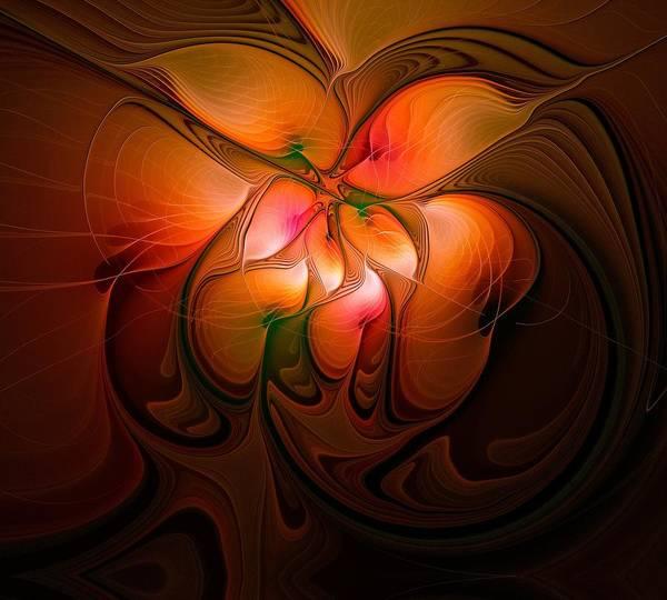 Digital Art - Celestial Callas by Amanda Moore