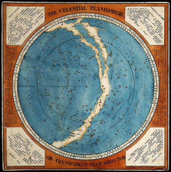 Photograph - Celestial Planisphere 1777 by Wellcome Images