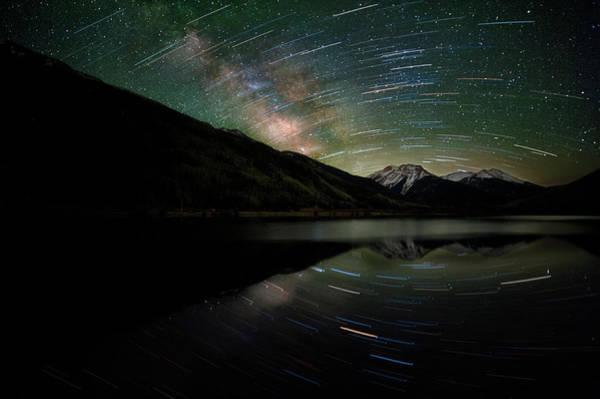 Colorado Photograph - Celestial Rotation In The Colorado San by Mike Berenson / Colorado Captures