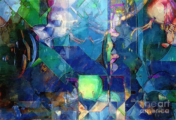 Painting - Celestial Sea by RC DeWinter