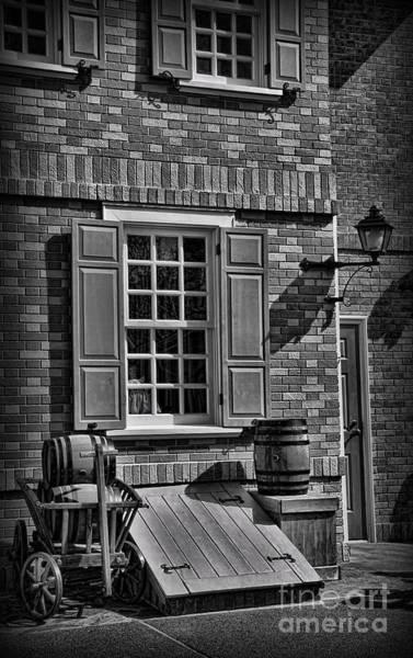 The Keg Photograph - Cellar Door In Boston by Lee Dos Santos