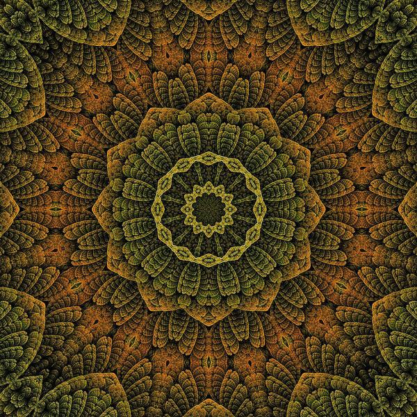 Digital Art - Celtic Blossom K12-og-2 by Doug Morgan