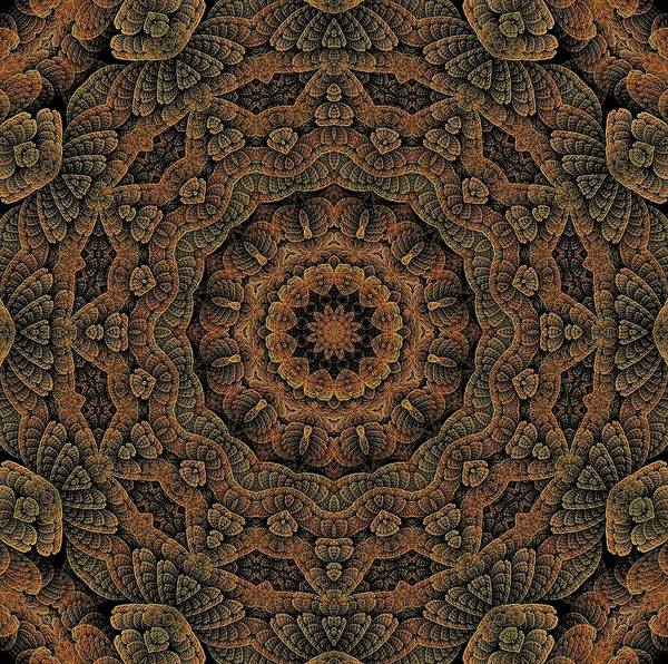 Digital Art - Celtic Blossom K12-og-4 by Doug Morgan