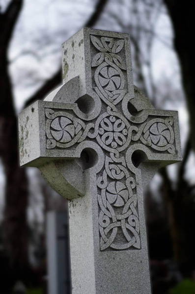 Photograph - Celtic Cross 10194 by Guy Whiteley