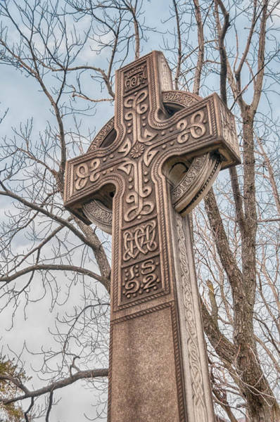 Photograph - Celtic Cross   3d22463 by Guy Whiteley