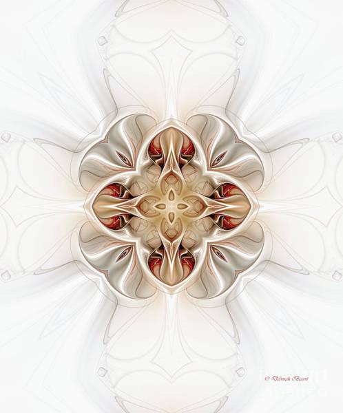 Digital Art - Celtic Cross by Deborah Benoit