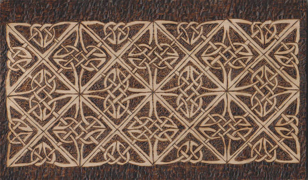 Pyrography - Celtic Knot 2 by David Yocum