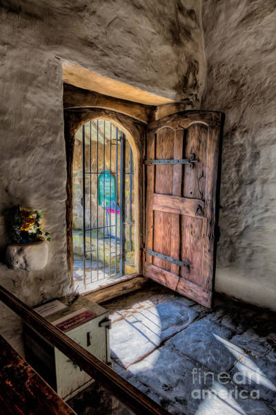 Hinges Photograph - Celynnin Entrance by Adrian Evans