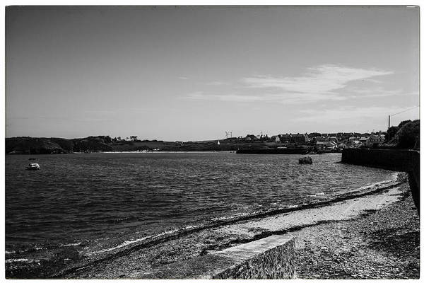 Wall Art - Photograph - Cemaes Bay Bw by Georgia Fowler