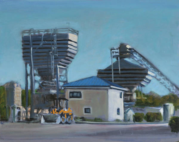 Diesel Trains Painting - Cement Mixer Putty Putty by David Zimmerman