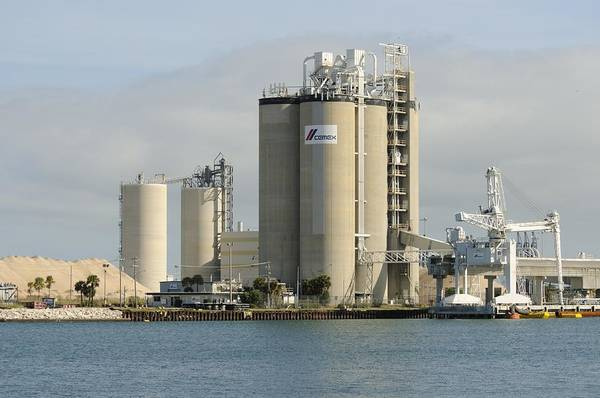 Photograph - Cement Plant At Port Canaveral by Bradford Martin
