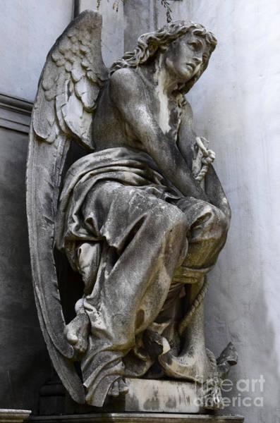 Crypt Photograph - Cementario De La Rocoleta Buenos Aires 6 by Bob Christopher