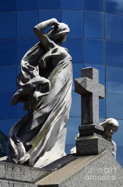 Grave Yard Photograph - Cementario De La Rocoleta Buenos Aires 7 by Bob Christopher