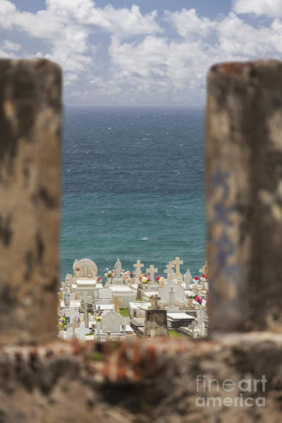Photograph - Cementerio De Santa Maria Magdalena De Pazzis In Old San Juan Pue by Bryan Mullennix