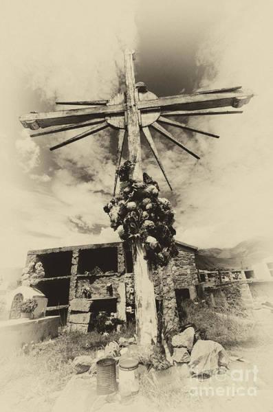 Grave Yard Photograph - Cemetario Volcon Argentina 2 by Bob Christopher