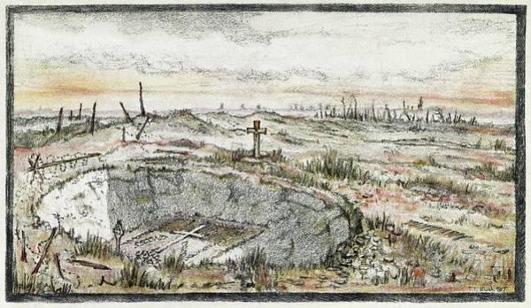 Cemetery Ridge Photograph - Cemetary On Vimy Ridge by Library Of Congress