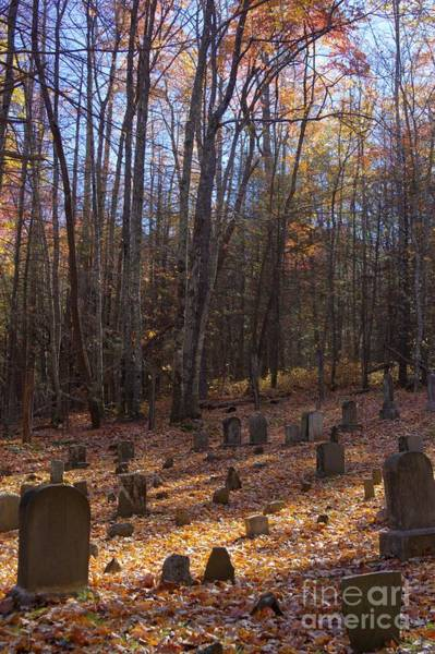 Photograph - Cemetery 2 by Crystal Nederman