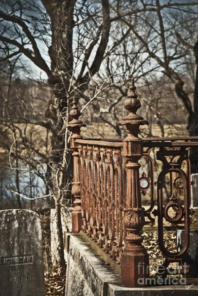 Photograph - Cemetery by Alana Ranney