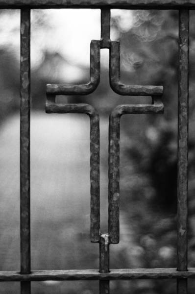 Photograph - Cemetery Entry by Miguel Winterpacht