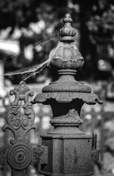 Photograph - Cemetery Gate by Ross Henton
