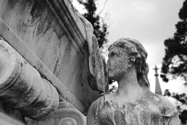 Photograph - Cemetery Gentlewoman by Jennifer Ancker