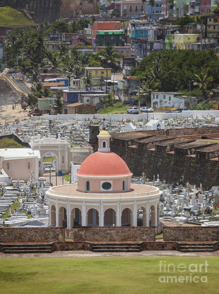 Photograph - Cemetery In Old San Juan Puerto Rico by Bryan Mullennix