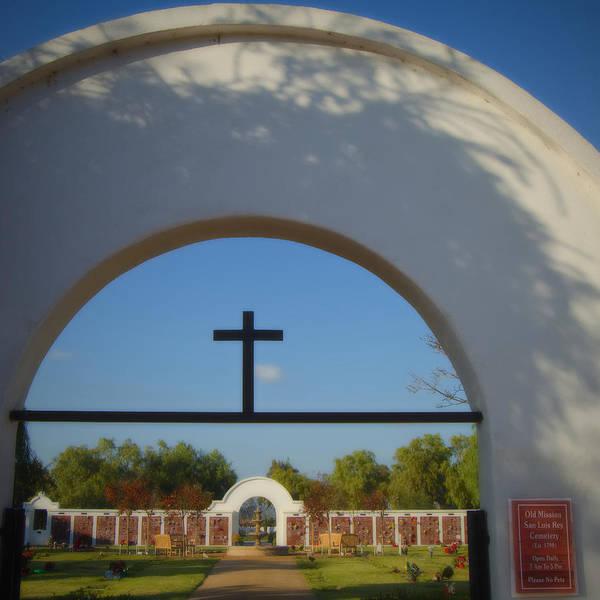 San Luis Rey De Francia Photograph - Cemetery- San Luis Rey by See My  Photos