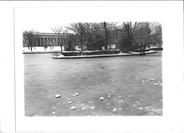 Photograph - Cenntennial Park Winter by Bc Adamkowski