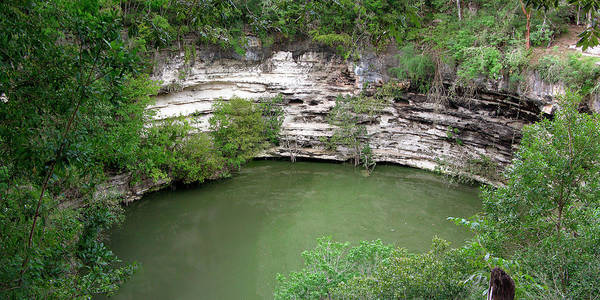Chichen Itza Photograph - Cenote Sagrado by Tony Craddock/science Photo Library