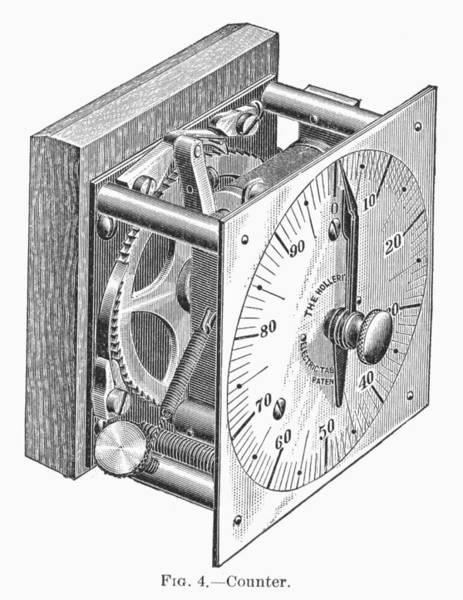 Photograph - Census Tabulator, 1890 by Granger