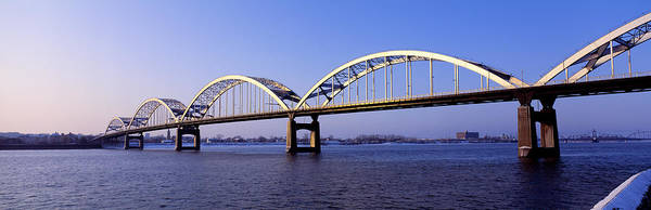 Centennial Bridge Photograph - Centennial Bridge, Iowa, Illinois, Usa by Panoramic Images