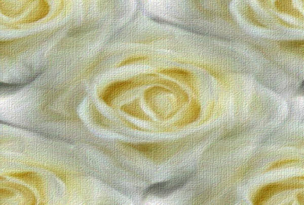 Painting - Center Of Focus Roses by Dennis Buckman