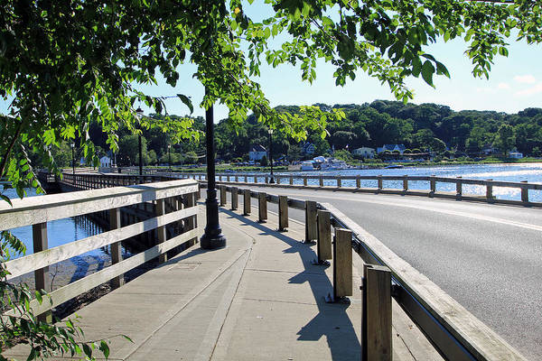 Photograph - Centerport Bridge Long Island New York by Susan Jensen