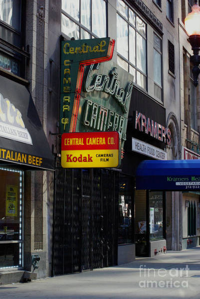 Photograph - Central Camera Chicago by Frank J Casella