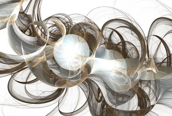 Wall Art - Digital Art - Central Core by Anastasiya Malakhova