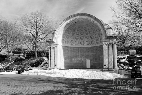 Wall Art - Photograph - Central Park Amphitheater by Paul Ward