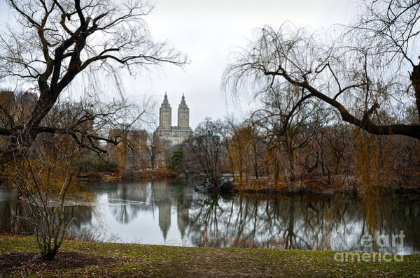 Photograph - Central Park And San Remo Building In The Background by RicardMN Photography