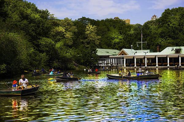 Wall Art - Photograph - Central Park Boathouse by Madeline Ellis