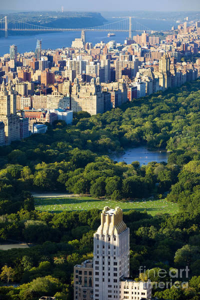 Art Print featuring the photograph Central Park by Brian Jannsen