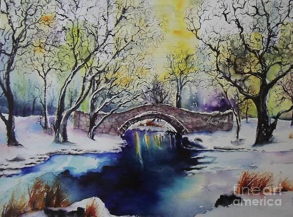 Painting - Central Park by Carol Losinski Naylor