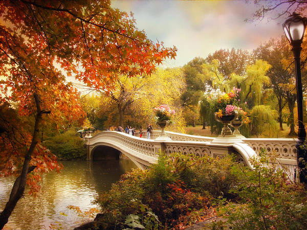 Bow River Wall Art - Photograph - Central Park Crossing by Jessica Jenney