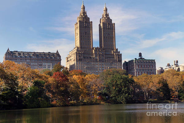 Photograph - Central Park Lake by Steven Spak
